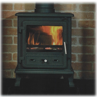 Firefox 8 Clean Burn DEFRA Approved Stove